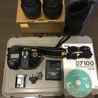 ニコン(Nikon)のNikon D7100 純正レンズ二本付き(デジタル一眼)