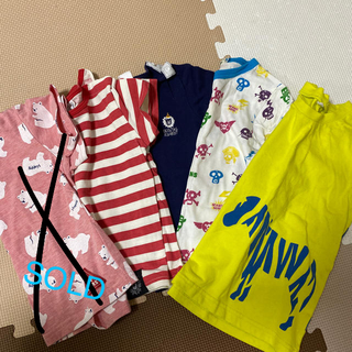 ニシマツヤ(西松屋)のBEAMS入りTシャツ福袋♡90/95セット(Tシャツ/カットソー)