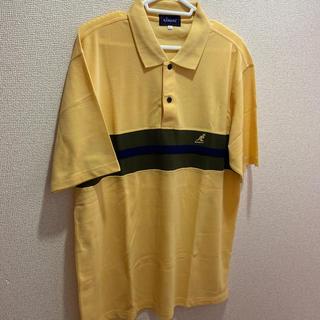 カンゴール(KANGOL)のKANGOLポロシャツ(黄)(ポロシャツ)