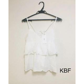 ケービーエフ(KBF)のKBF 2way キャミソール(新品)(キャミソール)