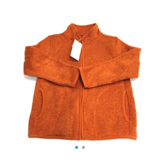 ユニクロ(UNIQLO)のUNIQLO☆新品☆110☆襟なし裏起毛ジャケット(ジャケット/上着)