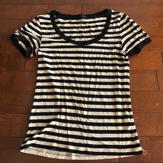 アナイ(ANAYI)のアナイ 肌心地の良い 綺麗目ボーダーTシャツ(Tシャツ(半袖/袖なし))
