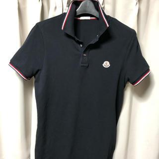 モンクレール(MONCLER)の国内正規品 モンクレール ポロシャツ ネイビー サイズS(ポロシャツ)
