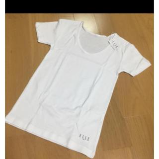 エル(ELLE)のELLE インナーシャツ無地白140cm(下着)