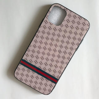 iPhoneケース※ピンクベージュ スマホケース※強化ガラス+TPU(iPhoneケース)