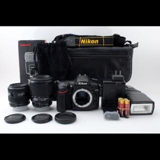 ニコン(Nikon)のショット極少!!ニコン Nikon D7200 Wレンズセット#618610(デジタル一眼)