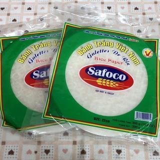 2パック トナム食材(約60枚) safoco 生春巻(米/穀物)