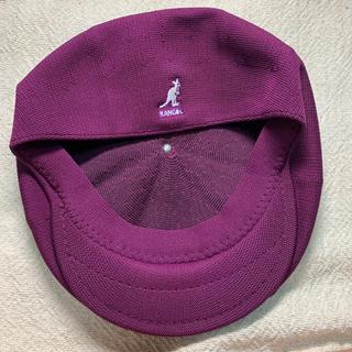 カンゴール(KANGOL)のKANGOL  ハンチング/ベレー帽 パープル(ハンチング/ベレー帽)