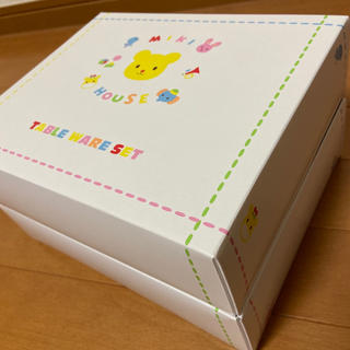 mikihouse - 新品 ミキハウス テーブルウェアセット