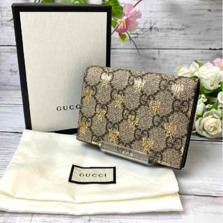 グッチ(Gucci)の極上美品❤️グッチ 折り財布 GGスプリーム ビー 正規品(財布)