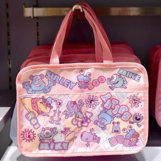 ディズニー(Disney)の【新品】モンスターズインク スパバッグ(洗顔用ヘアバンド付き)(スーツケース/キャリーバッグ)