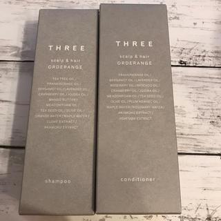 THREE - THREE スキャルプ&ヘア オーダレンジ