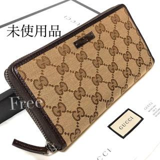 グッチ(Gucci)のGUCCI 長財布、グッチ、グッチ 財布、グッチ長財布、グッチラウンドファスナー(財布)