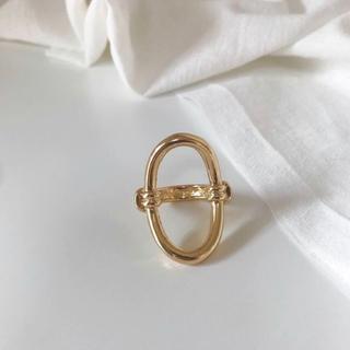 Kastane - Miria gold ring