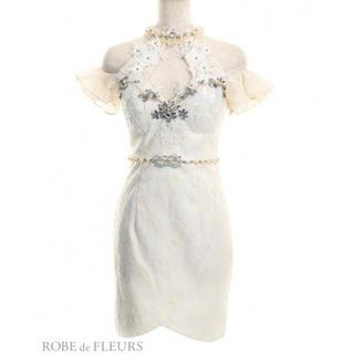 ローブ(ROBE)のROBE de FLEURS/ローブドフルール キャバドレス  新品未使用(ナイトドレス)