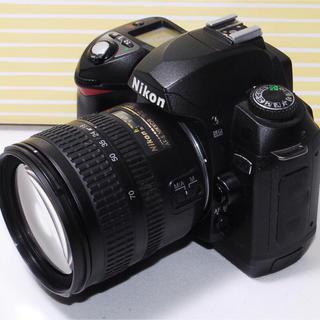 ニコン(Nikon)の⭐️思い出たくさん⭐️Nikon D70 レンズキット・豪華付属品多数(デジタル一眼)