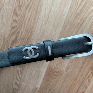 シャネル(CHANEL)のシャネル 2cm ベルト 牛革 サイズ85(ベルト)