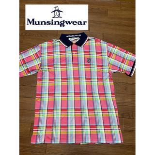 未使用! マンシングウェア ポロシャツ ゴルフウェア ゆったり