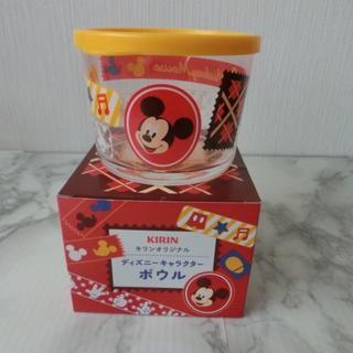 ディズニー(Disney)の未使用■ミッキーマウス325ml蓋つきボールキリン非売品ディズニーコラボレア新品(テーブル用品)