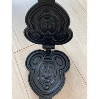 ディズニー(Disney)のミッキーワッフルメーカー(調理道具/製菓道具)