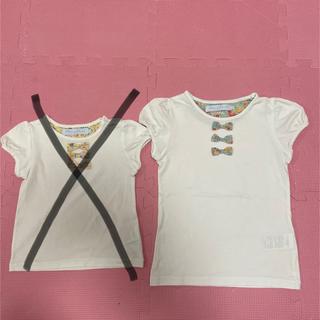 タルティーヌ エ ショコラ(Tartine et Chocolat)のタルティーヌエショコラ Tシャツ 2枚セット(Tシャツ/カットソー)