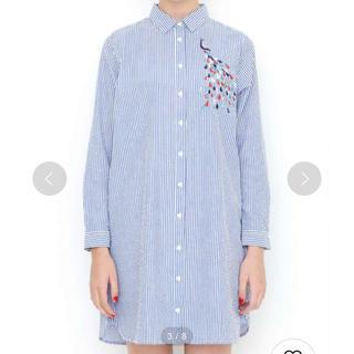 グラニフ(Design Tshirts Store graniph)の値下げ不可 グラニフ シャツワンピ (ひざ丈ワンピース)