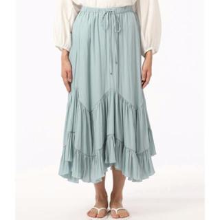 GRACE CONTINENTAL - グレースコンチネンタル 割繊ティアードスカート