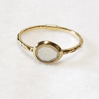アガット(agete)のアガット スキニーストーン 白蝶貝 9号(リング(指輪))