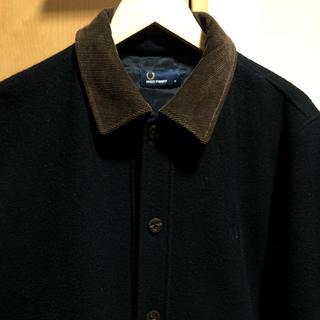 フレッドペリー(FRED PERRY)の美品 フレッドペリー  long line jacket ウールジャケット(ブルゾン)