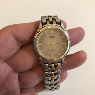 セイコー(SEIKO)のSEIKO DOLCE クオーツ シルバー 8j41-6080(腕時計(アナログ))
