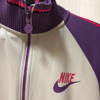 ナイキ(NIKE)のNIKE ナイキ ジャージ 紫 パープル ピンク(トレーナー/スウェット)