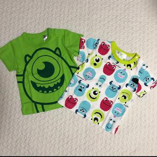 ニシマツヤ(西松屋)の新品 未使用 モンスターズインク Tシャツセット 60-70サイズ(Tシャツ)