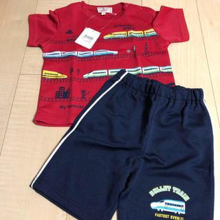 motherways - マザウェイズ  新品 サイズ90cm  新幹線半袖Tシャツ短パンセット