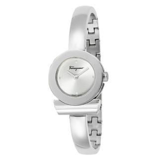 Salvatore Ferragamo - フェラガモ ガンチーニ 腕時計 レディース  シルバー