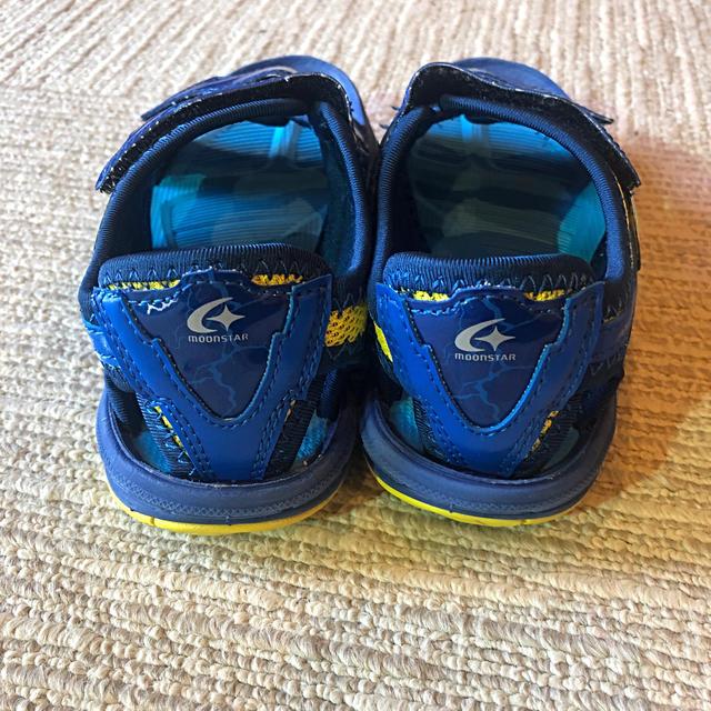 SUPERSTAR(スーパースター)のSUPERSTAR (スーパースター) キッズ サンダル  18.0cm キッズ/ベビー/マタニティのキッズ靴/シューズ(15cm~)(サンダル)の商品写真