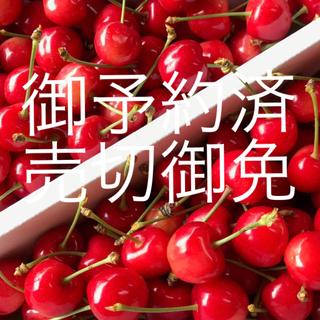 3キロ satoko様専用 山形 さくらんぼ 佐藤錦 M〜L 秀品 1キロ バラ(フルーツ)