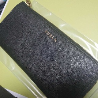 フルラ(Furla)の【人気デザイン】FURLA長財布ブラック箱付き、袋付き(財布)