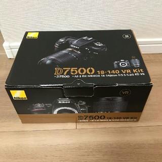 ニコン(Nikon)の未使用☆Nikon D7500 18-140 VR レンズキット(デジタル一眼)