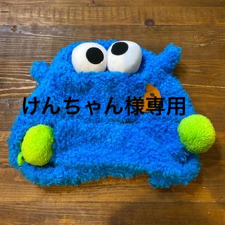 セサミストリート(SESAME STREET)のUSJ ユニバ クッキーモンスター ファンキャップ(キャラクターグッズ)