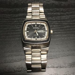 ディーゼル(DIESEL)のDIESEL ディーゼル 腕時計 シルバー ブラック DZ-4064(腕時計(アナログ))