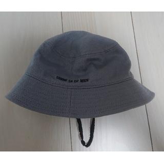 COMME CA ISM - コムサイズム ベビー 帽子 48cm グレー