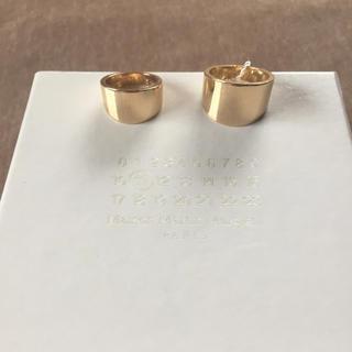 マルタンマルジェラ(Maison Martin Margiela)のL新品 メゾン マルジェラ 2連リング 指輪 レディース アクセサリー リング(リング(指輪))