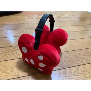 ディズニー(Disney)のミニーちゃんリボン耳当て(イヤーマフ)