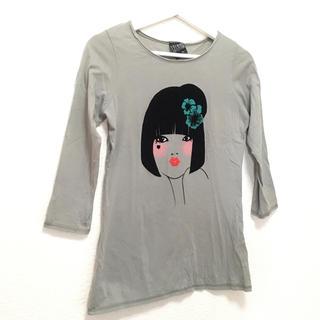 ザラ(ZARA)のzara  7部袖 デザイン Tシャツ ザラ(Tシャツ(長袖/七分))