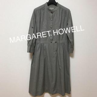 マーガレットハウエル(MARGARET HOWELL)のMARGARET HOWELLコットンワンピース(ロングワンピース/マキシワンピース)