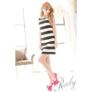 レディー(Rady)のrady レディー ワンピース ワンピ ビジュー タイト ドレス(ミニワンピース)