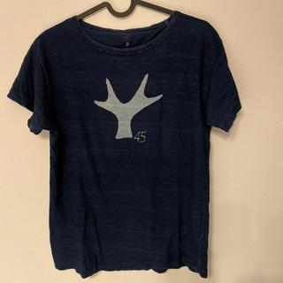 フォーティーファイブアールピーエム(45rpm)の45rpm デニムカラーTシャツ(Tシャツ/カットソー(半袖/袖なし))