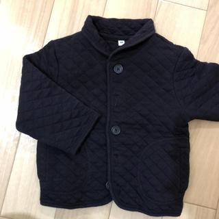 ムジルシリョウヒン(MUJI (無印良品))の無印良品 80 キルトジャンパー 紺色 キルトジャケット(ジャケット/コート)