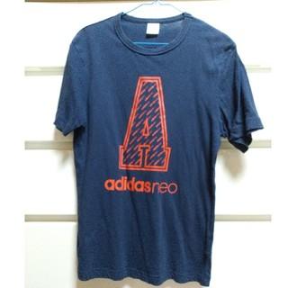 アディダス(adidas)のadidas neo Tシャツ ネイビー(Tシャツ(半袖/袖なし))
