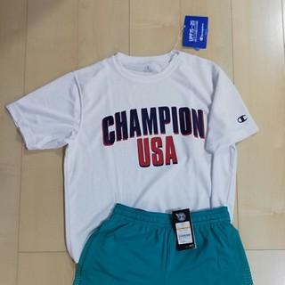チャンピオン(Champion)の新品 champion ドライティーシャツ(Tシャツ/カットソー(半袖/袖なし))